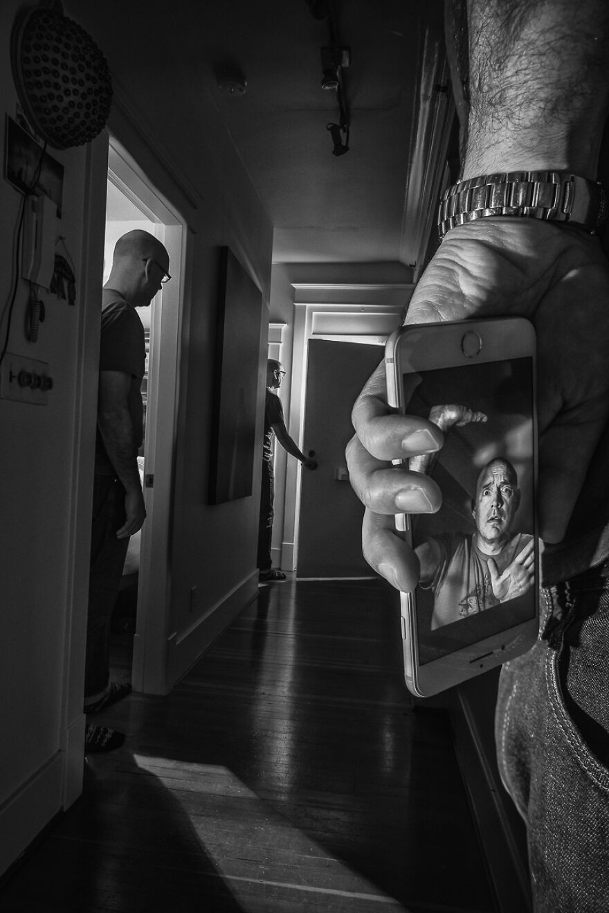 With No Visitors, A Knock At The Door Brings Intrigue