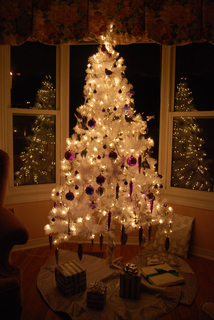 Our Beautiful White Christmas Tree!