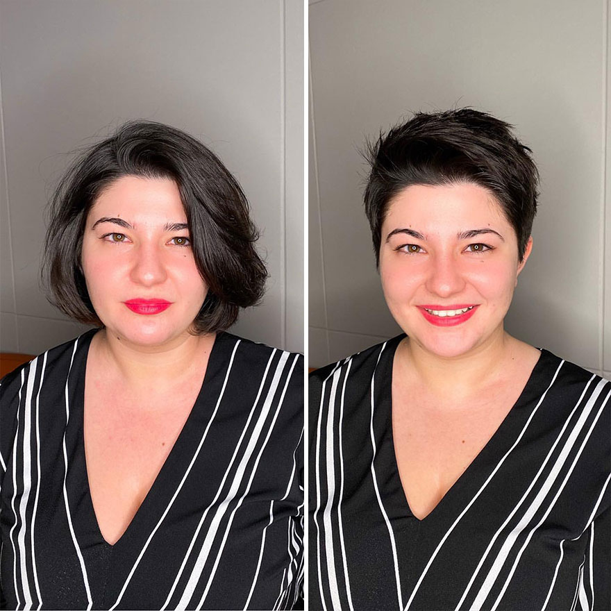Women Risk Cutting Their Hair And Realize That They Only Gained From It