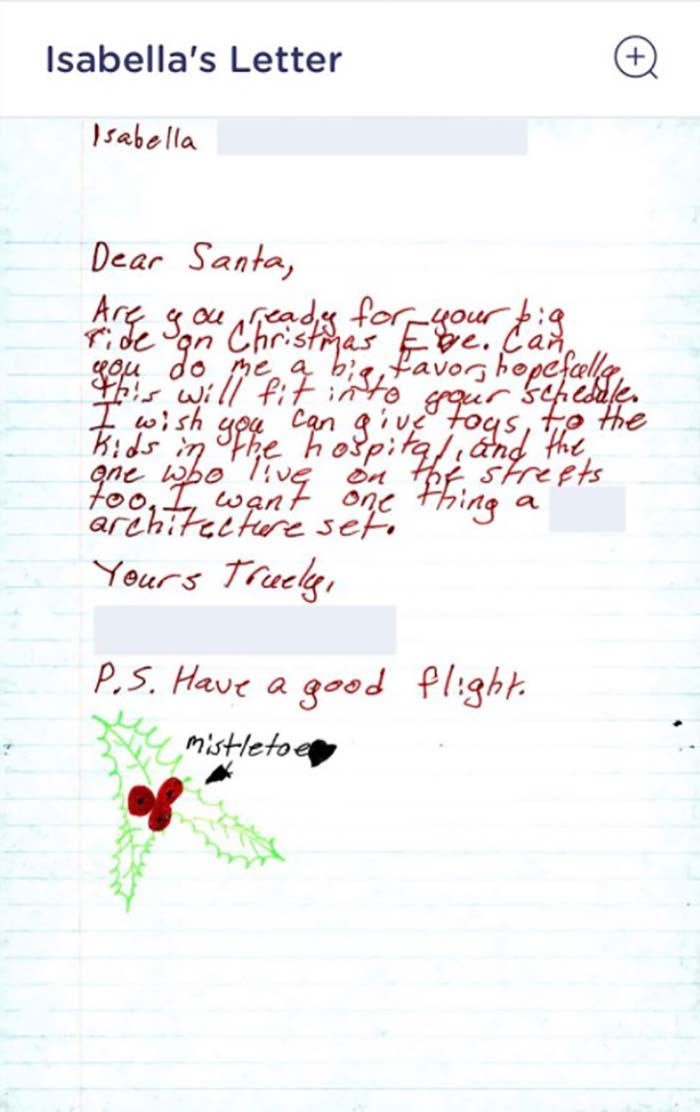 """USPS Launched A Program Where People Can Now """"Adopt"""" A Letter Written To Santa By Fulfilling The Wish Of The Child Who Wrote It"""