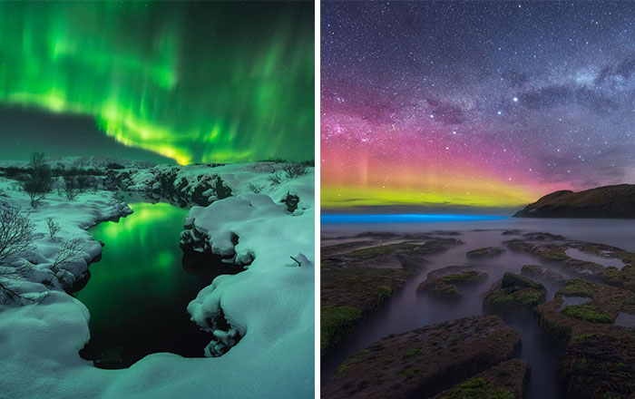 "25 Winners Of The Northern Lights Contest By ""Capture The Atlas"""