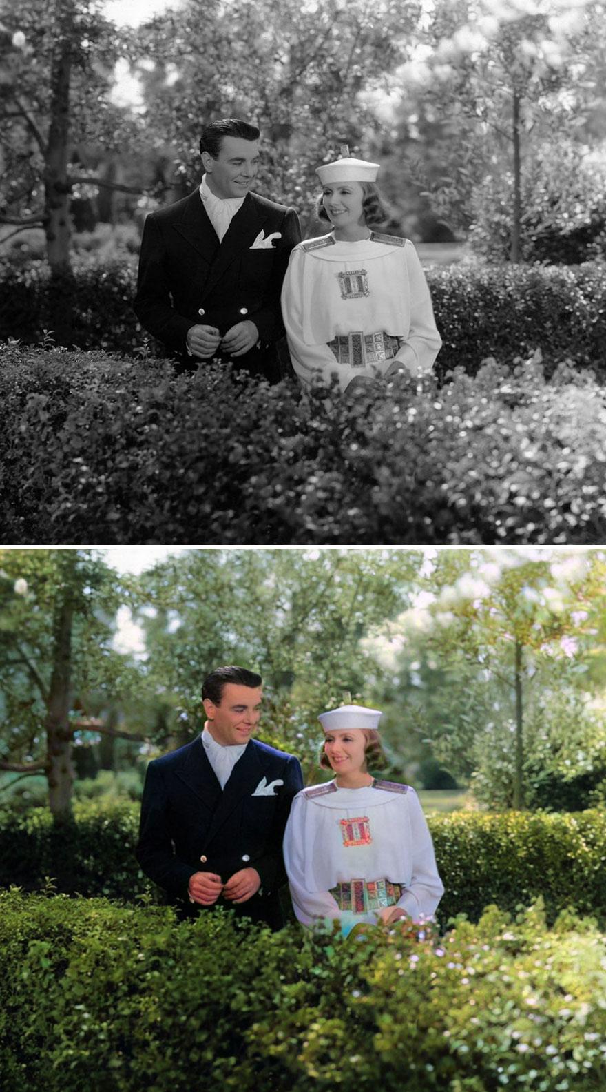 Greta Garbo And George Brent