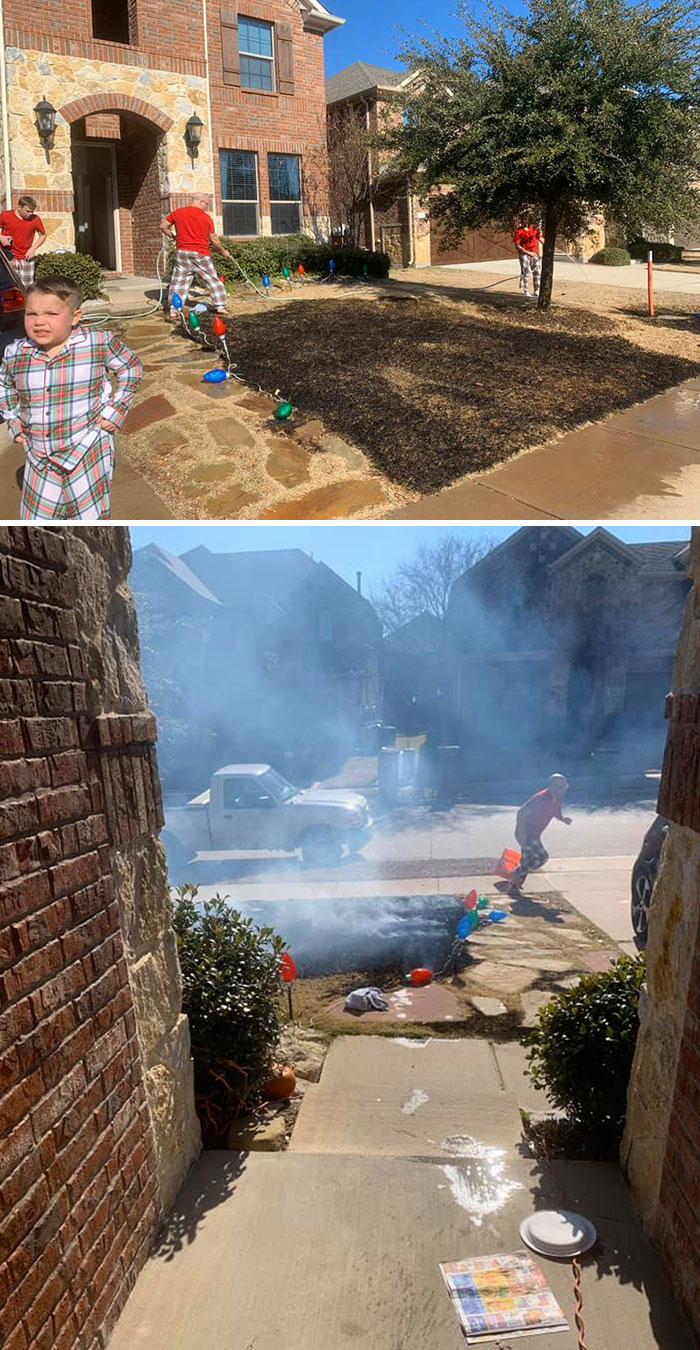 12-Year-Old Set His Lawn On Fire After Getting Magnifying Glass For Christmas
