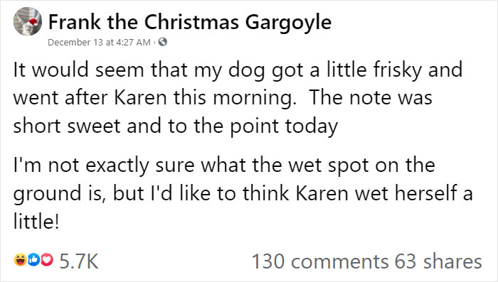 """""""Karen"""" Keeps Leaving Notes Complaining About Woman's Decorations, Woman Responds By Adding Even More 27"""