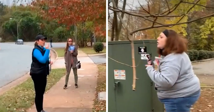 Pro-Life Protester Calls Abortion Clinic Patient A Coward, Clinic's Volunteer Destroys Her With Words