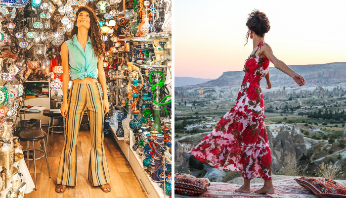 Traveling Fashion Design: We Handmade 3 Fashion Outfits Specifically For Our Trip To Turkey
