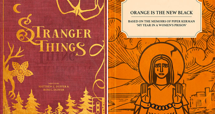 Our 6 Vintage Book Covers Of Netflix Original Shows