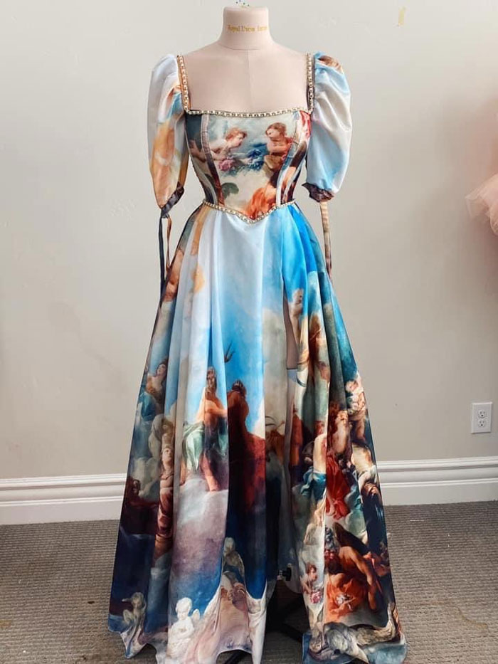 Una Pintura Del Renacimiento Como Vestido