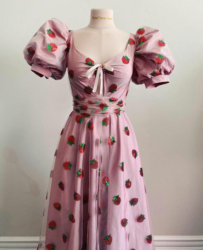 Vestido De Fresa