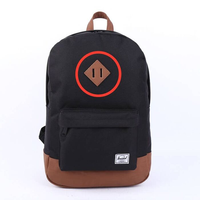 Slotted Patches On Backpacks