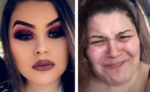 """Catfishes"" Are Revealing What They Really Look Like Without Makeup (32 Pics)"