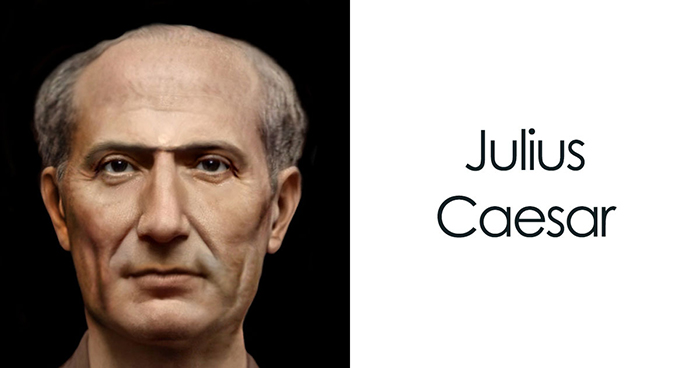 Guy Uses Modern Software To Restore The Faces Of Julius Caesar And 23 Other People From Ancient History