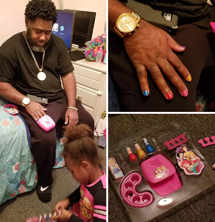 I Was My Baby's First Client In Her Nail Spa This Morning. If You Don't Have Nothing Nice To Say About Her Work, Then Don't Say Nothing. She Is Open For Appointments