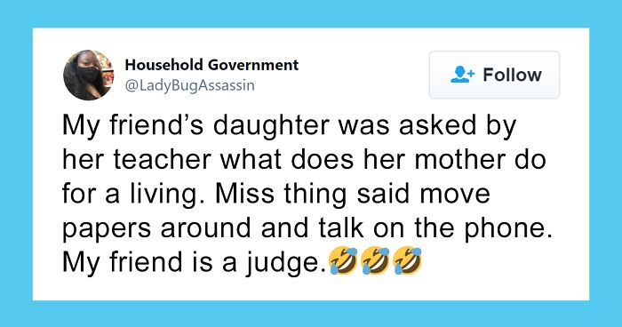 27 Times Kids Described Their Parents' Jobs In A Straight-To-The-Point Manner