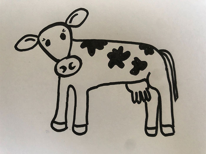 Hey Pandas, Draw A Cow (Closed)