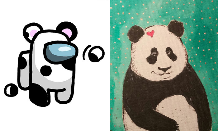 Hey Pandas, Draw The Bored Panda Mascot And Post Your Result Here (Closed)