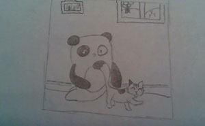Hey Pandas, Draw The Bored Panda Mascot And Post Your Result Here