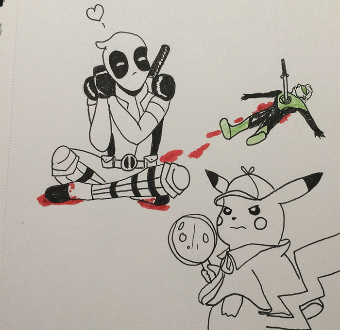 Hey Pandas, Draw Your Favorite Superhero In 30 Minutes (Closed)