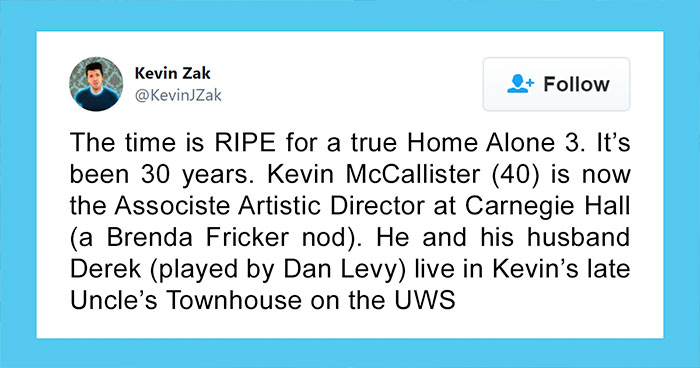Guy Comes Up With An Excellent Plot For A 'Home Alone' Sequel, 73K People On Twitter Are Here For It