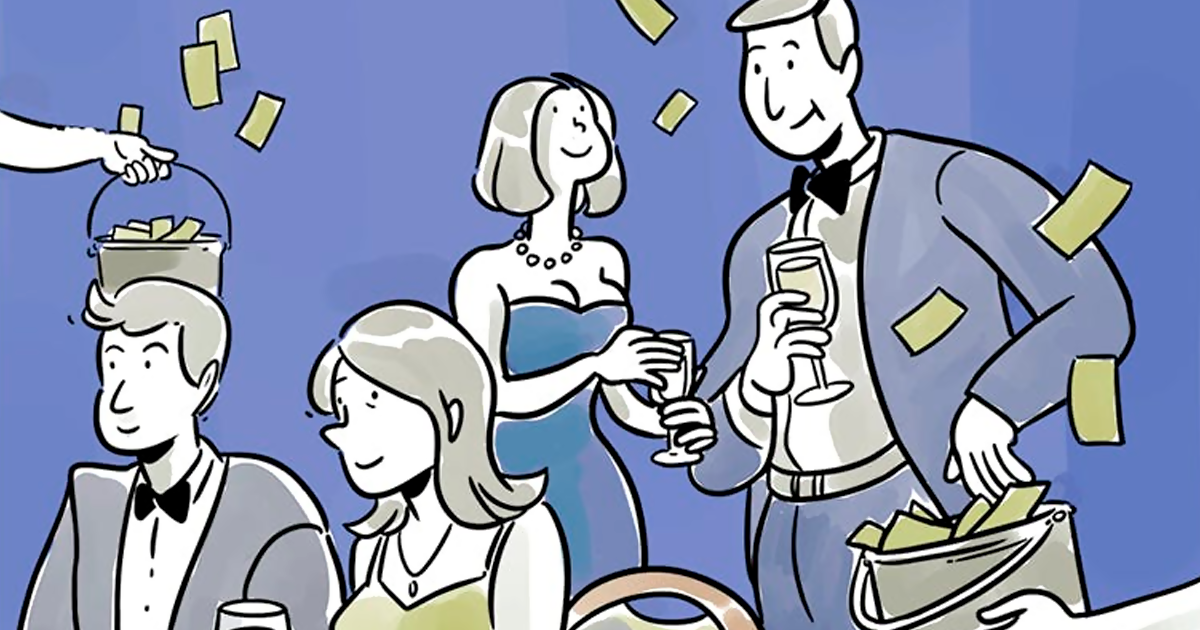 How To Get The Wealthy To Pay Their Taxes, Explained By Comic Artist Kasia Babis - bored panda