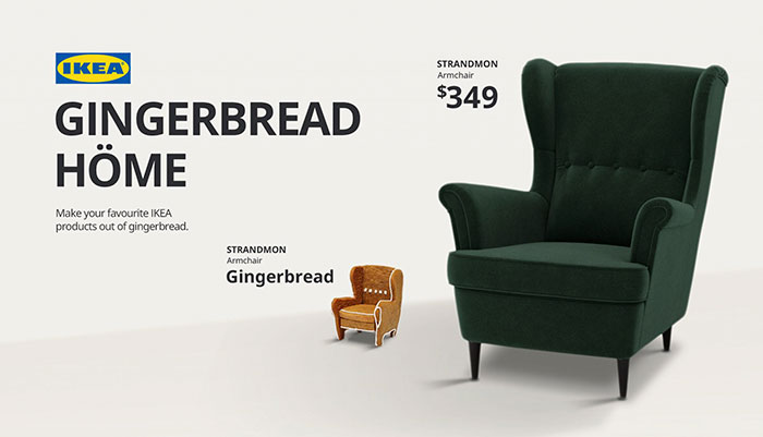 IKEA Releases The Gingerbread Höme Kit That Allows You To Create Miniature Gingerbread Versions Of Their Furniture
