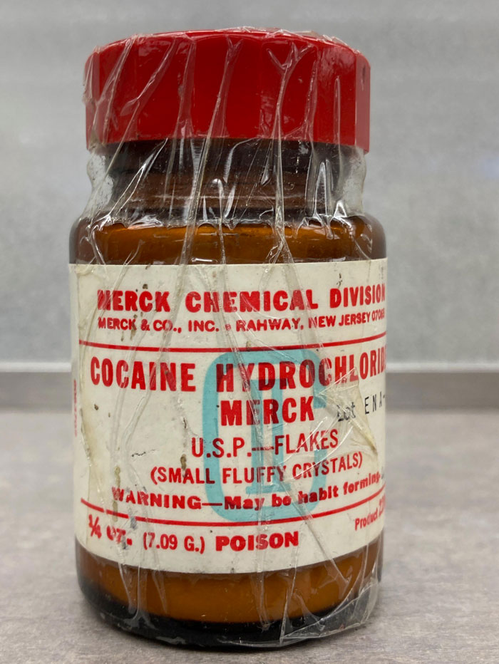 This Very Old Bottle Of Cocaine We Found In My Pharmacy