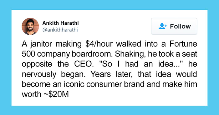 Guy Tweets Story Of Richard Montañez, Former Janitor Who's Now A $20M Dollar Brand