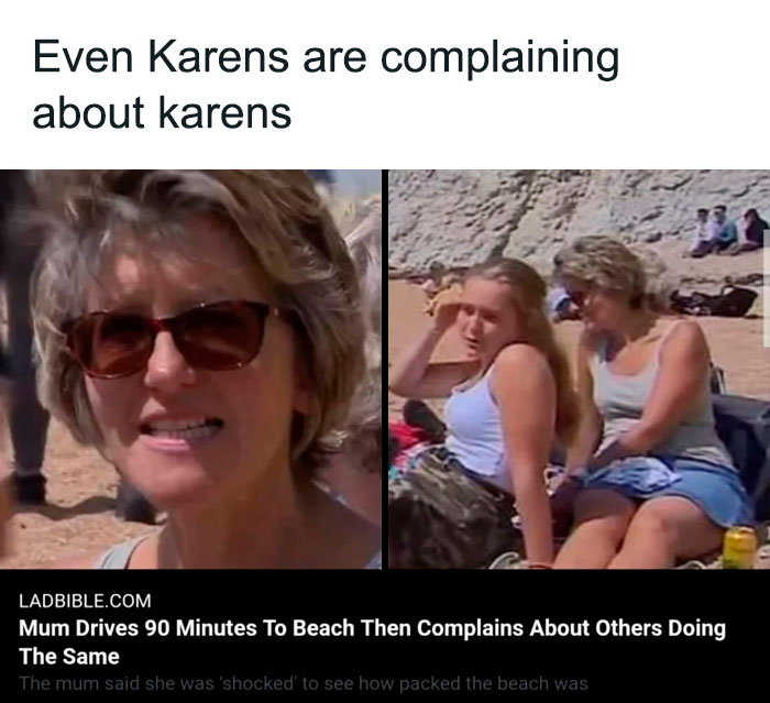 When Karens Complain About Karens