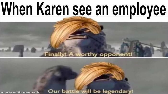 Kung Fu Karen
