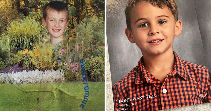 40 Of The Most Hilarious Kid School Photo Fails That Surely Made Their Parents Cry-Laugh