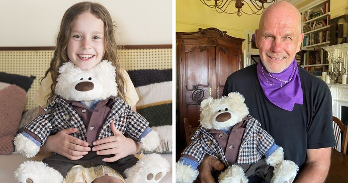 My Seven-Year-Old Daughter Has Epilepsy, So I'm Trying To Sell A Fancy Version Of Her Teddy Bear For A Million Dollars To Fund Research