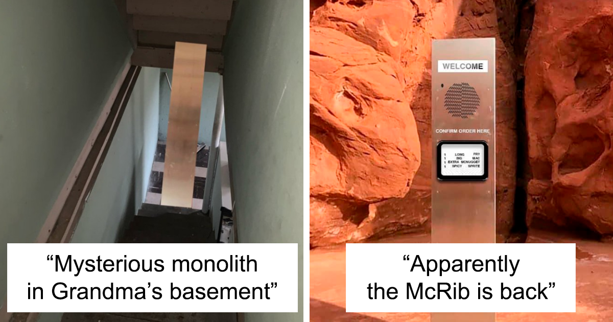 30 Memes About Mysterious Monoliths That Keep Appearing In Random Places - bored panda