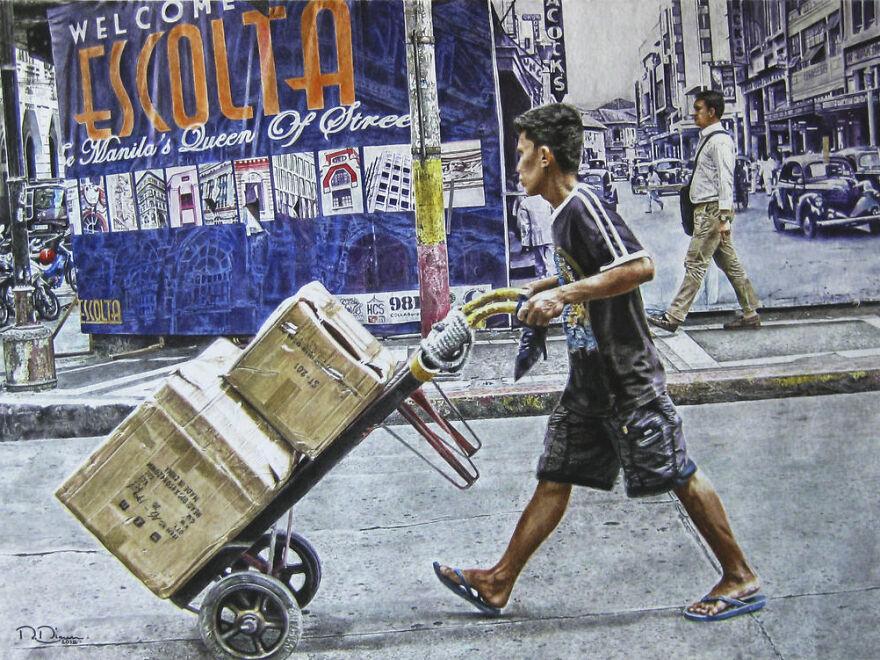 Obrero De Calle Escolta