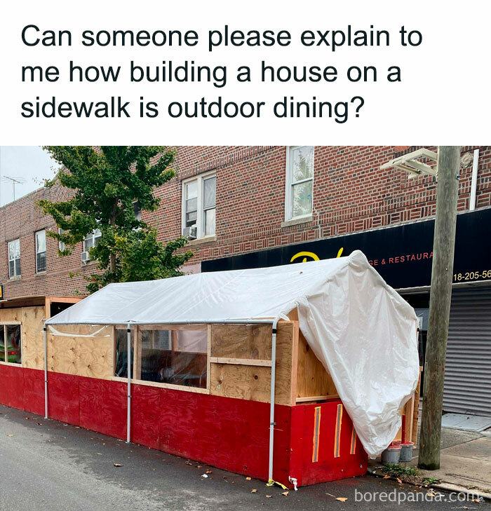How Is This Considered Outdoor Dining?