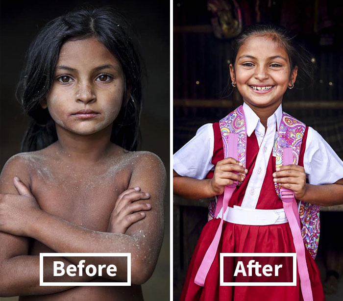 19 Before And After Photos Showing How The Lives Of Bangladeshi Working Kids Changed After This Photographer Funded Their Education