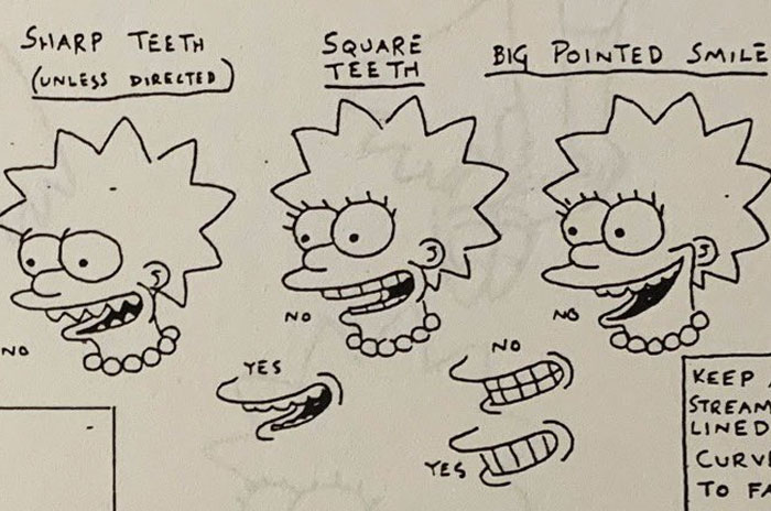'The Simpsons' Type Information From 1990 Reveals Sure Guidelines For Animating Characters And It is Fascinating