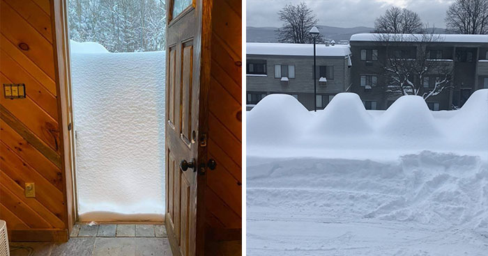 Record-Breaking Snowfall Buries Binghamton, New York, And Here's What People Woke Up To (30 Pics)
