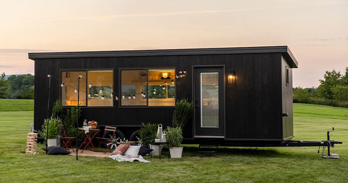 'IKEA' Collaborates On Their First Tiny House Design And The Interior Looks Both Beautiful And Practical