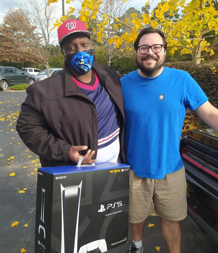 Been Gaming With This Dude For 15 Years. I Have Some Good Gaming Memories With Him. He Tried But Couldn't Get PS5. Little Did He Know I Was Able To Get Him One