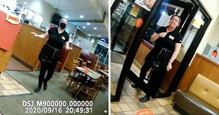 """Anti-Maskers Claim """"Religious Exemption"""" At Denny's, Make The Waitress Quit Her Job On The Spot"""