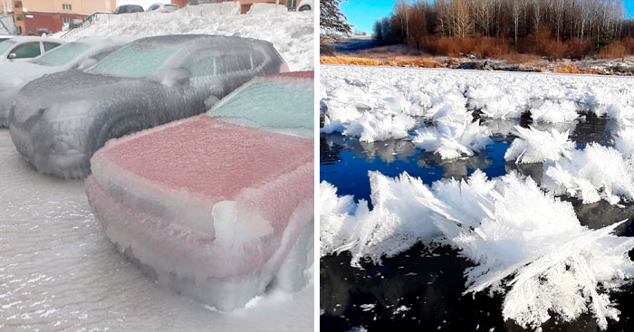 30 Of The Strangest Weather Occurrences In Russia Shared By This Twitter Account