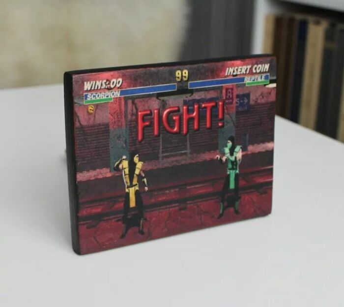I've Recently Discovered How To Transfer Images To Any Surface Through Acrylic Decoupage. I Decided To Combine It With My Passion For Retro Games