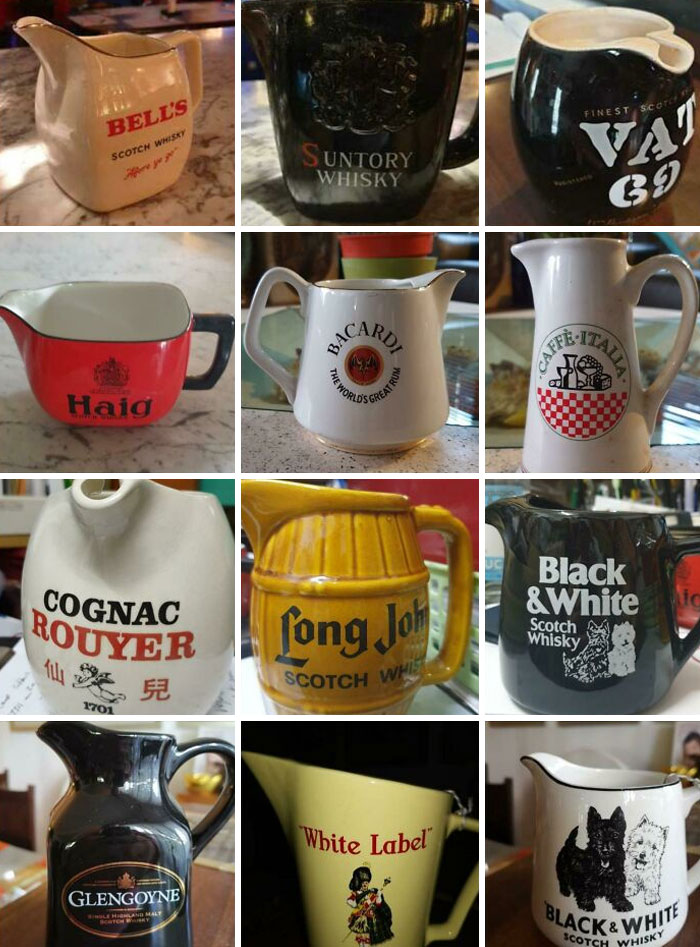 My New Hobby - Collecting Whiskey Jugs