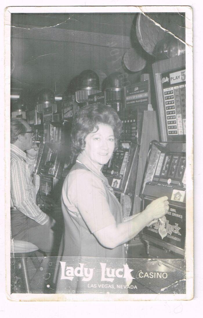 Great Grandma Living And Gambling In 1960s Las Vegas