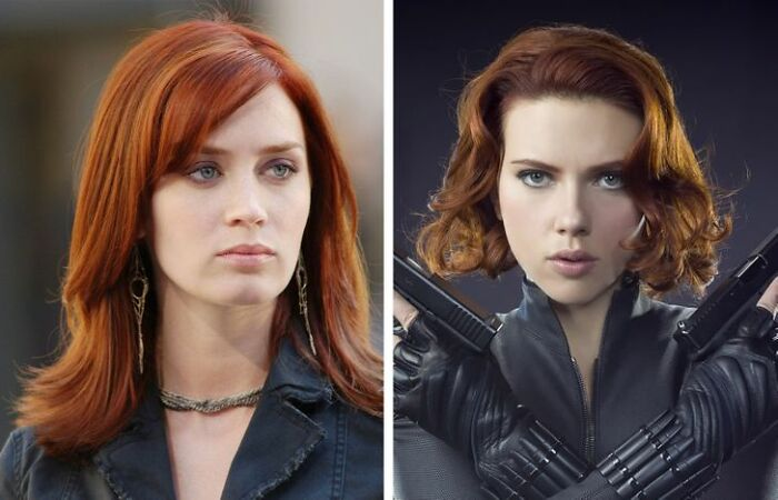 Emily Blunt Was The First Choice To Play Black Widow, But Scarlett Johansson Got The Part