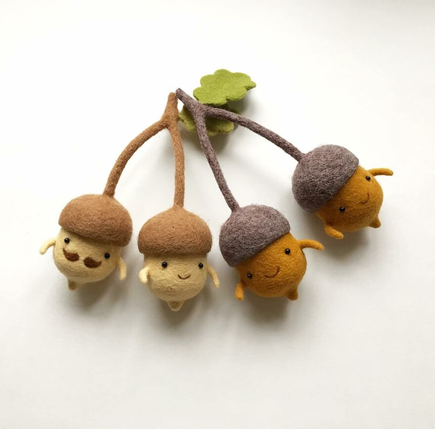 This Ukrainian Artist Creates Wool Sculptures So Adorable That You Will Fall In Love