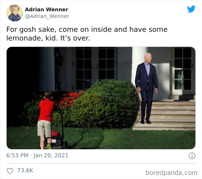 People Are Sharing Hilarious Memes That Sum Up The Relief Of Transitioning From Trump To Biden