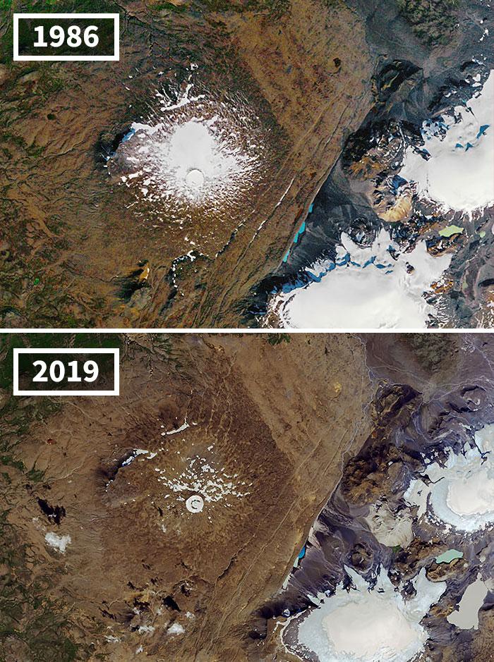 El Glaciar Ok De Islandia Se Derrite