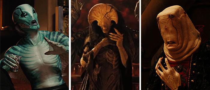 Doug Jones As Abe Sapien, Angel Of Death, And Chamberlain In Hellboy II: The Golden Army (2008)