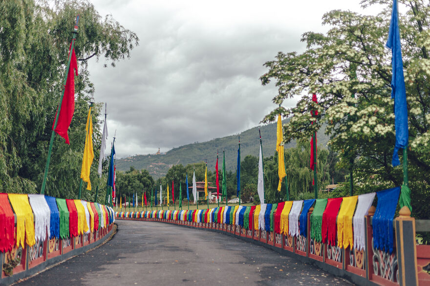The Way To The Dzong